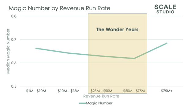 The Wonder Years of SaaS - MN and growth chart 2